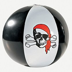Inflatable Pirate Beach Ball