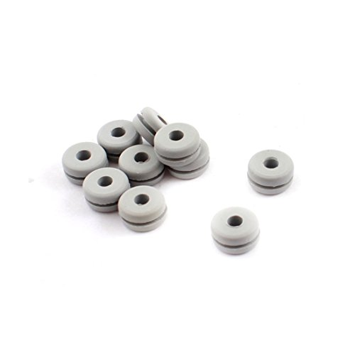 10Pcs RC Canopy Rubber Grommet 2.3x4.2x7x3.5mm for 450 Helicopter - 1
