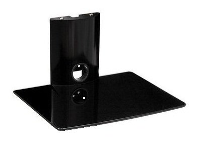 Floating Glass Shelf For Dvd Player Mountright Floating Glass Dvd