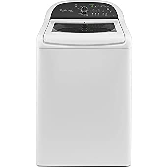 Whirlpool WTW8100BW Cabrio 4.5 Cu. Ft. White Top Load Washer - Energy Star