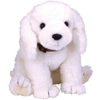 TY Classic Plush - FLUFF the Dog - 1
