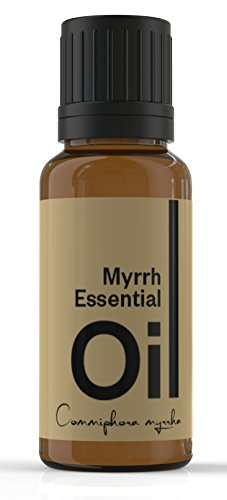 Cielune Myrrh Essential Oil - 100% Pure, All Natural Premium Oil - Therapeutic Grade for Alternative Medicine - Ideal for Skin Care, Hair Care - Natural Remedy for Inflammation - Satisfaction Guaranteed - 10ML