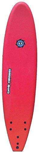 Liquid Shredder FSE Soft Surfboard, Red, 9-Feet