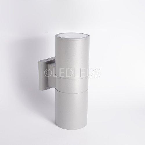 Faro applique moderno lampada parete faretto e27 led esterni doppia emmisione