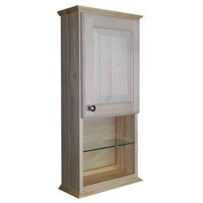 "Ashley Series 31.5"" x 15.25"" Wall Medicine Cabinet Size: 31.5"" H x 15.25"" W x 8"" D"