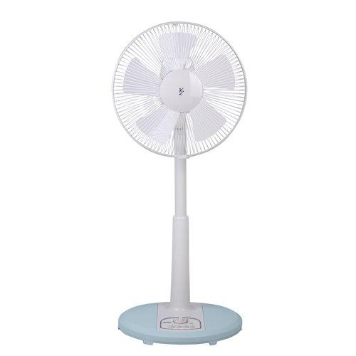 山善(YAMAZEN) 30cmリビング扇風機(押しボタンスイッチ)タイマー付 ホワイトブルー YMT-K304(WA)
