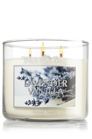 Bath and Body Works 14.5 Oz. 3-wick Candle Lavender Vanilla
