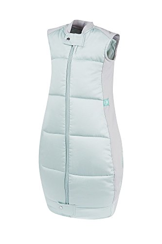 ergoPouch OQMS 3.5 TOG Organic Cotton Quilt Sleeping Bag, Mint, 2-12 Months - 1