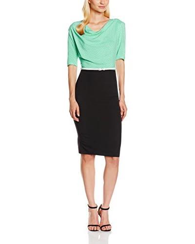 Maiocci Vestido Negro / Verde
