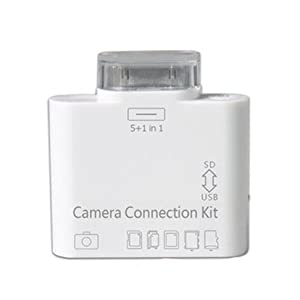 5in1 USB Camera Connection Kit SD Card Reader for iPad