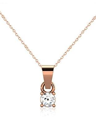 Friendly Diamonds Conjunto de cadena y colgante FDP6253R Oro Rosa