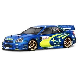 HPI Racing 17505 Subaru Impreza WRC 2004 Body, 200mm