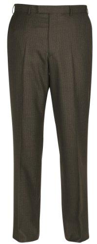 Brook Taverner Hazel Suit Trousers in Olive 32R