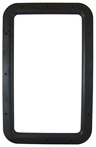 Valterra A77012 Black Carded Interior Entrance Door Window Frame (Rv Door Window compare prices)