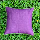 Cushion Casa Cushion Covers (Deep Purple)