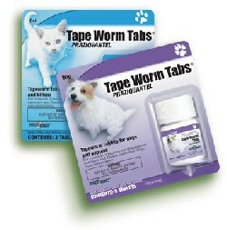 Tape Worm Tablets for Cats and Kittens