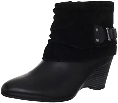 Clarks Women's Clarks Trolley Twirl Boot,Black,5.5 M US