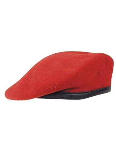 Bundeswehr-Barett-rot-gebraucht