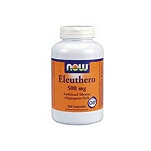 NOW Foods Eleuthero 500 mg 250 Caps