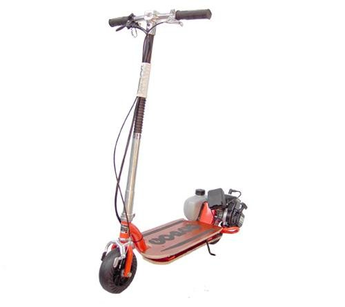 Go-Ped Super X-Ped Gas Powered Competition Scooter (Orange)