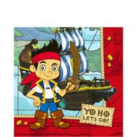 Great Features Of Jake and the Never Land Pirates Luncheon Napkin
