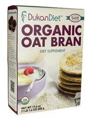 Dukan Diet Organic Oat Bran -- 17.6 oz