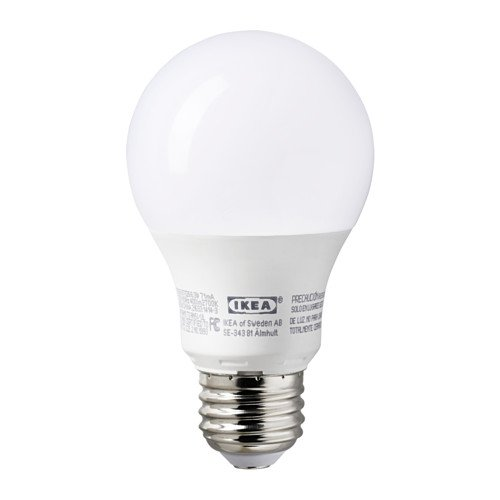 Ledare E26 400 Lumen, 6.3 Watts, 2700K Opaque LED Light bulb