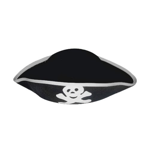 Adult Pirate Hat ~ Halloween Pirate Costume Accessories