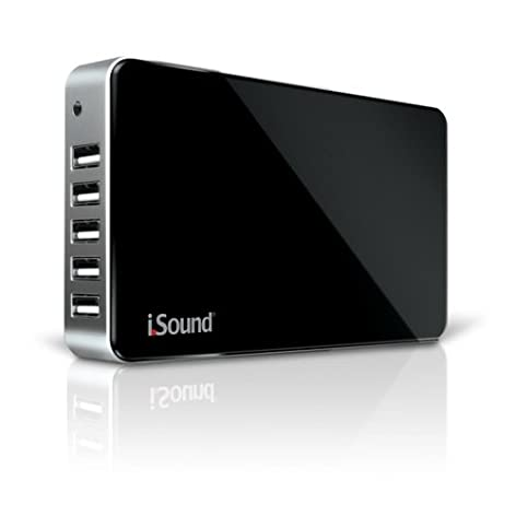 i.Sound Portable Power Max with 16,000 mAh (Black/Silver) [輸入品]