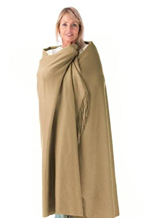 100% Pure Cashmere Throw / Blanket, Ultra Plush, Imported Cashmere