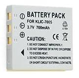 NEEWER® 2X Battery KliC-7005 for FujiFilm FinePix, Pentax Optio & Many More!