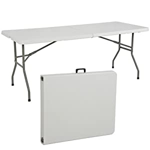 Amazon Com Best Choiceproducts Folding Table Portable