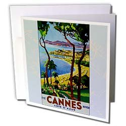 PS Vintage - Vintage Cannes Travel Postcard -