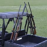 Great Day Sporting Clays UTV Gun Rack Model QD804SC It attaches securely to the sides of the cargo bed with use of lag s