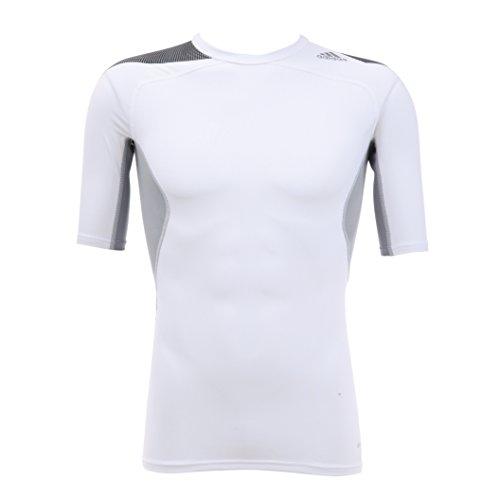 (アディダス)adidas techfit Cool クルーネックショートスリーブシャツ