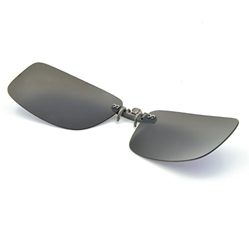 Besgoods Polarized Clip-on Sunglasses Lenses Glasses ...