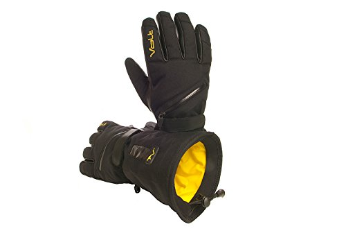 Volt Heated Snow Gloves, Black, Large
