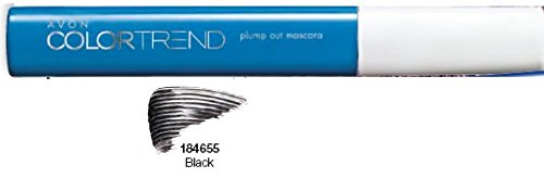 AVON Color Trend Plump Out Mascara schwarz