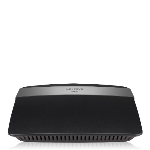 Linksys E2500-EZ Router N a Doppia Banda Avanzato, Dual Band 2.4 e 5 GHz, Antenne Interne MIMO, Supporto IPv6, Sicurezza WPA2, Nero