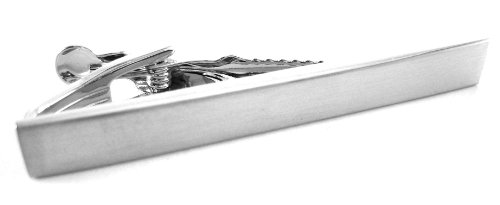 Kenneth Cole REACTION Men's All Tied Up Tie Clip, Silver, One Size