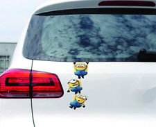 Minion car sticker, Escape.