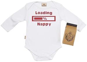 SR - Loading Nappy Camisillas Bebé / Ropa interior - 100% Bio-algodón - en caja de regalo - BebeHogar.com