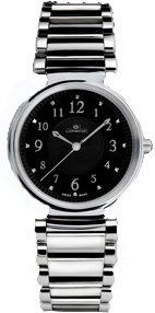 Lorenz 026383BB - Reloj , correa de acero inoxidable color plateado