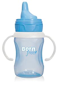 Born Free BPA-Free 7 oz. Training Cup, Blue