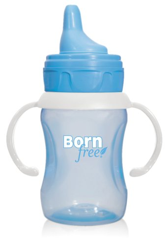 Born Free Bpa-Free 7 Oz. Training Cup, Blue front-735326