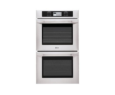 Lg Lswd305St: Lg Studio - 4.7(X2) Cu.Ft. Capacity 30 Built-In Double Wall Oven With Convection System
