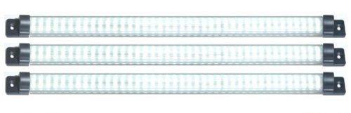 """Designer Series 18"""" Led 3 Panel Pack- Warm White"""