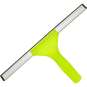 Unger 961820C 12-Inch Window Squeegee Plastic Handle  with Connect and Clean Locking System