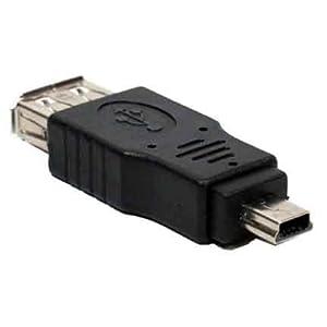 Generic USB A Female to Mini USB B 5 Pin Male Adapter (SF4814)