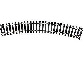 "Code 100 Nickel Silver 15"" Radius Snap Track (100) HO Scale Atlas Trains"